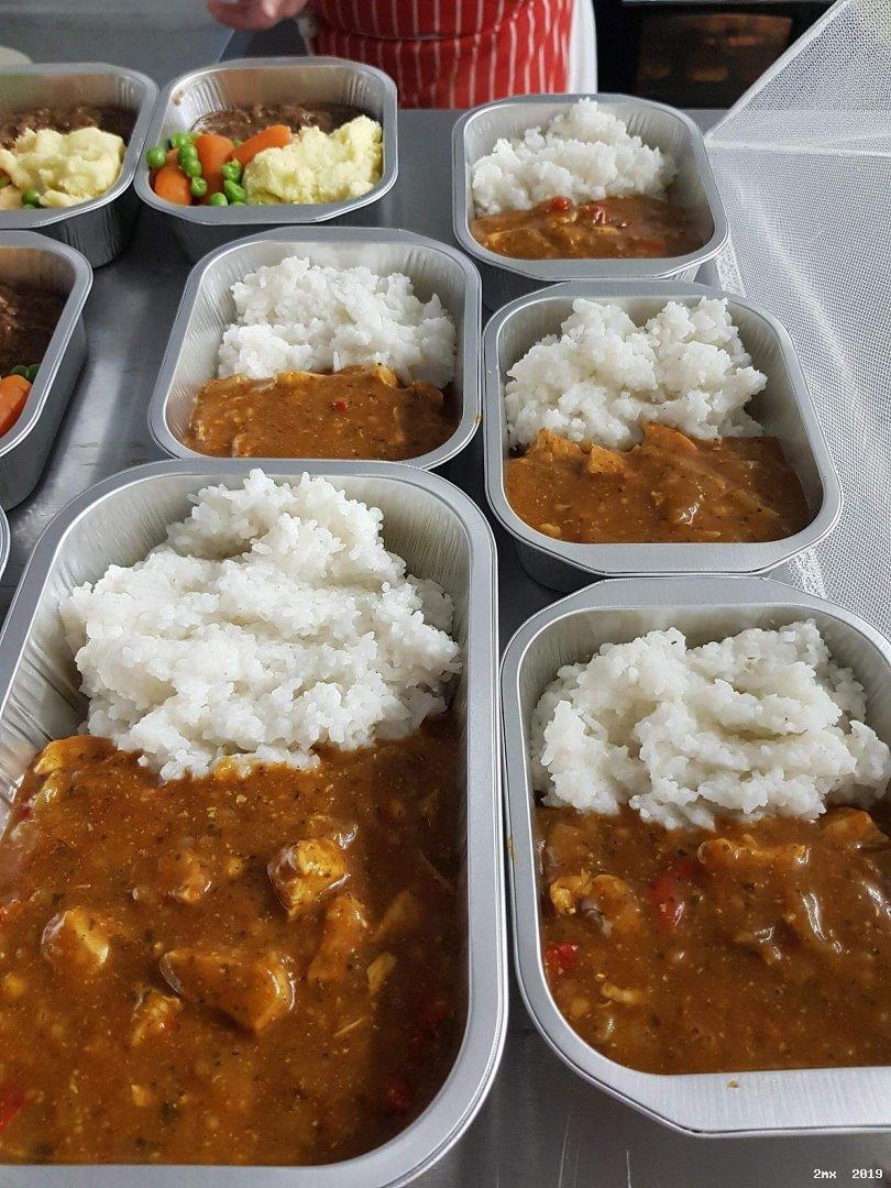 <strong>Chicken Curry & Rice</strong><br><br>