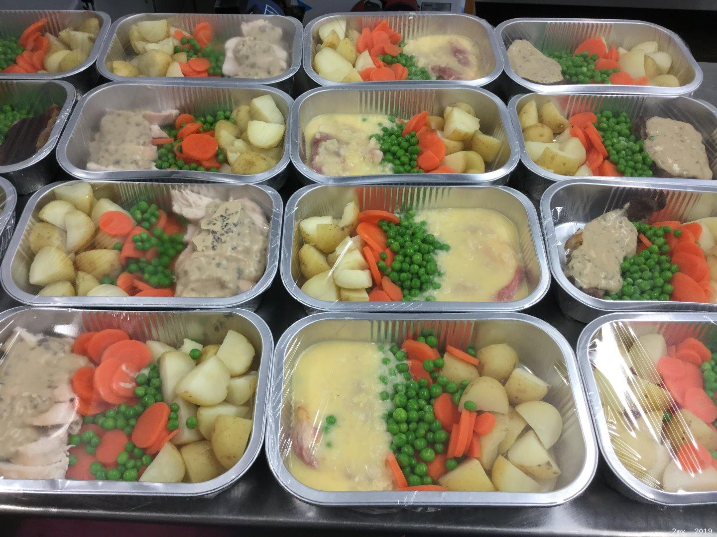 <strong>Chicken Meals and a choice of Sauce with Tatties & Veg</strong><br><br>